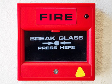 fire alarm installation photo of red fire alarm elitenet
