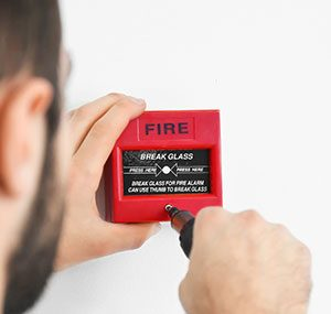 fire alarm maintenance in plain office elitenet