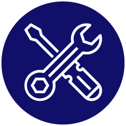we carry out your electrical work icon