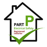 part p electrical safety logo awarded to elitenet.