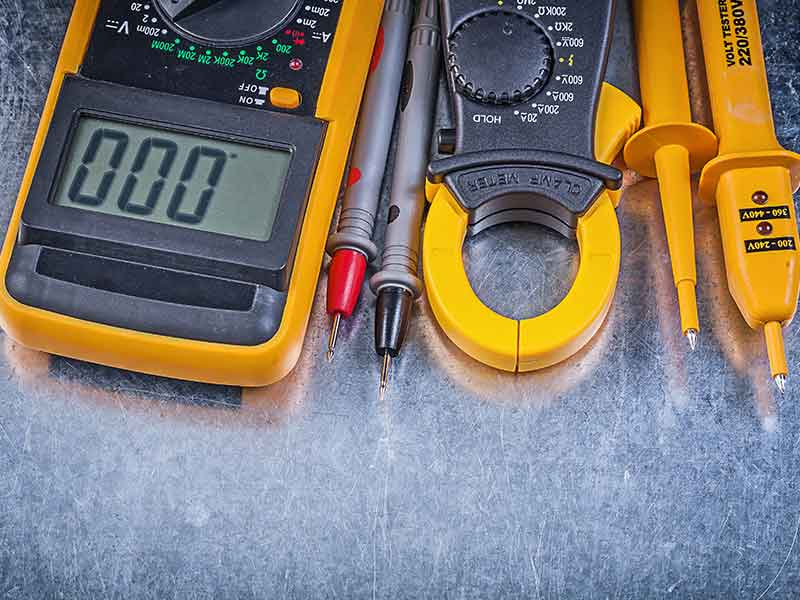 Elitenet tools we use to carry out an electrical installation condition report (EICR).